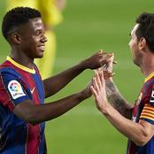 Ansu Fati Breaks Raul 25 Years Record To Become The Youngest Goalscorer In El Clasico History