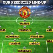 Manchester United Ole Gunner Solskjaer Fierce Starting XI That Will Likely Thrash PSG Today