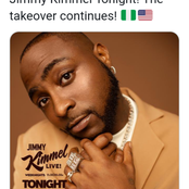 See what fans commented on Davido's recent tweet