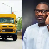 Throwback Photos Of Billionaire Femi Otedola Boarding Molue From Sango-Ota To Agege