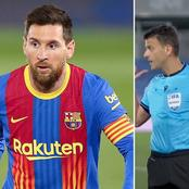 Savage Reply From El-classico Referee To Lionel Messi, After The Final Whistle. See What He Said