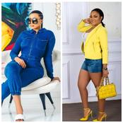 20 photos of Mercy Aigbe and other celebrities rocking denim outfits