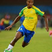 Themba Zwane wins the Footballer of the Season award.