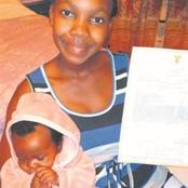A MATRIC LEARNER who went to write the exam few hours after she gave birth, passed the final exam