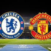 Chelsea's expecting lineup against Man United