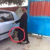 """""""Shame On You""""- See The Photo Of A Pretty Lady On Facebook That Got People Talking"""