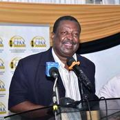 Mudavadi Refuses to Agree Raila And Moi Spoke About 2022, Resorts to Jokes