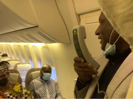 Passengers excited as Air Peace CEO shares gifts on Lagos Abuja flight as an act of love this Easter