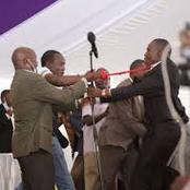 Simba Arati And Sylvanus Osoro Have Once Again Made Headlines In Kisii Today During Burial Of Oyioka