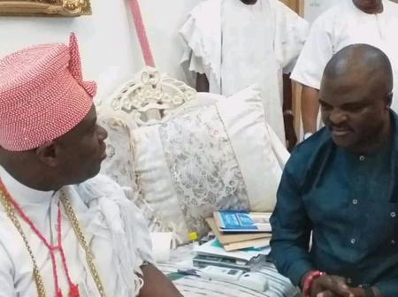Even The Deities Danced To Your Music, Ooni Of Ife Tells Fuji Musician, Obesere