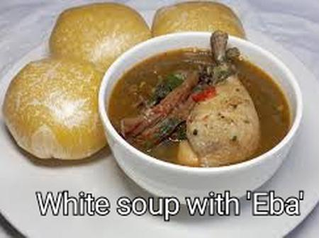 Nigerian Delicacy:Ladies and Gentlemen Checkout How to Prepare 'Ofe Nsala'(White Soup)