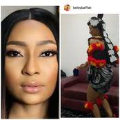 "Belinda Effah Calls Herself ""Efik Bride"" As She Stuns In Her Cultural Attire (Photos)"