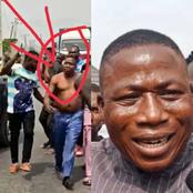 Sunday Igboho: I Pulled Off My Clothe Because DSS Operative Held Onto It