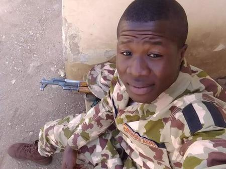 Wife Cries As Nigerian Army Tortures Her Husband, Detains Him For Six Months Without Trial.