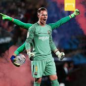 Ter Stegen breaks self record in comeback win to send Barca to 6th Copa Del Rey final in 7 years