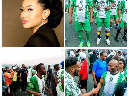 Natasha Akpoti Speaks On Yahaya Bello's Teammates, Check out What She Told them