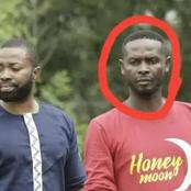 Who remembers the handsome actor standing in front of Samuel Ofori? See how he looks recently