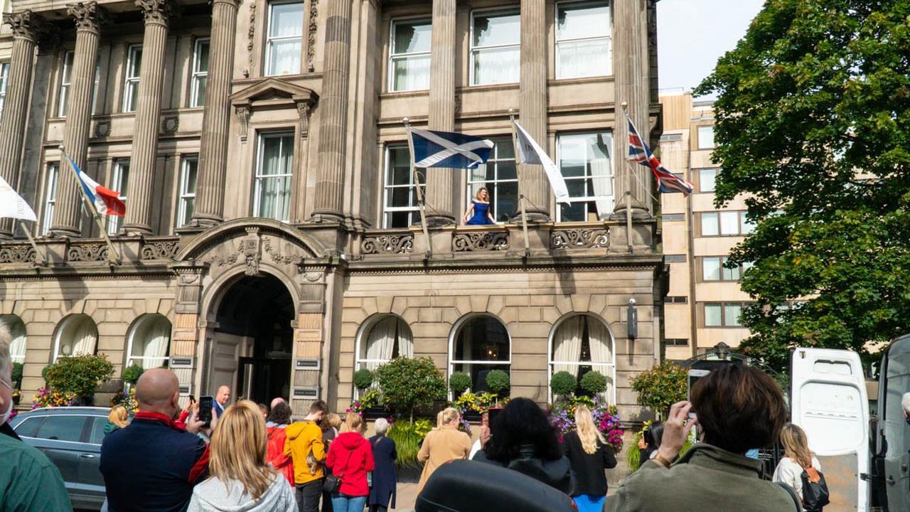 Commemorating Sir Walter Scott in song