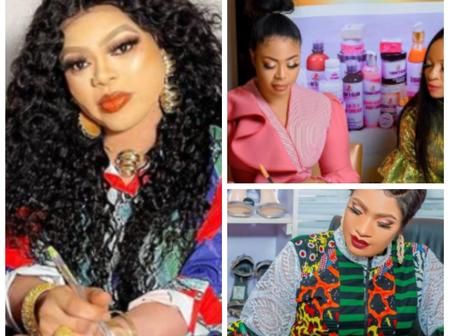 Bobrisky And Two Other Actresses That Signed Ambassadorial Deals Today