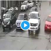 Foreigners Caught On Camera Trying To Hijack South African At Joburg CBD