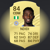Ndidi becomes the highest rated Nigerian player in FIFA 21 (Check out the top five)