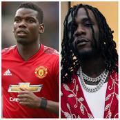 Paul Pogba Challenges Singer Burna Boy In Pepsi Global Challenge, Check Out Burna Boy Response