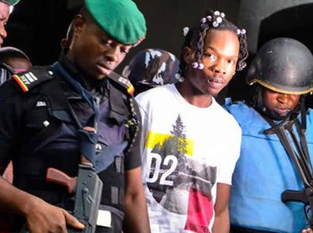 Throwback Pictures Of When Naira Marley Was Arrested By The EFCC