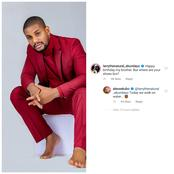 Check Out The Reply Alex Ekubo Gave An Instagram User Who Asked For His Shoes