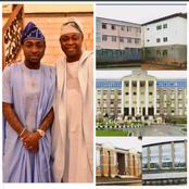 Davido Father Deji Adeleke Clocks 64 Years Today, See Photo Of His University In Ede Osun State.