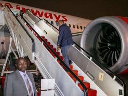 President Leaves For Italy After Talks Meeting With Mudavadi Failed - Dennis Itumbi