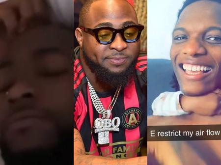 Days After Wizkid's 'E Don Spoil' Superseded 'E Choke', Davido Comes Up With New Slang