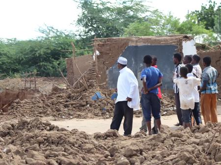 Angry Husband Demolishes His House After Wife Of 5 Years Marries A Richer Man In Tana River