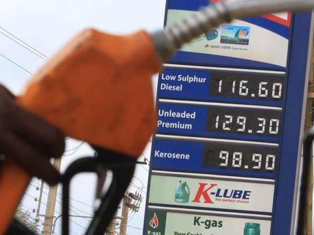 Good News As Cost Of Kerosene, Diesel and Petrol Prices Drop Across Kenyan Towns
