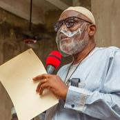 Governor Rotimi Akeredolu suspends NURTW in Ondo State