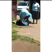Watch: A Woman Gives Birth On The Ground At The Clinic