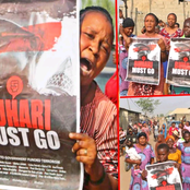 """""""Buhari Must Go"""" Protest Hits Abuja, Checkout Pictures Captured During The Protest"""