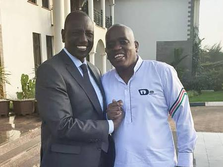 Dennis Itumbi reacts to Photo of a BBI Branded Limousine