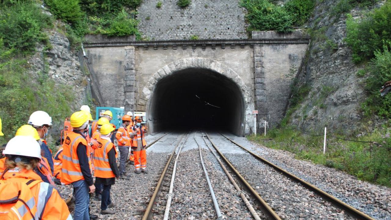 Haute-Marne : Lifting intégral du tunnel de Provenchères-sur-Marne avec SNCF Réseau et Colas Rail