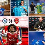 Latest Done Deals And Transfer Updates From Chelsea, Man Utd, Arsenal, And Others
