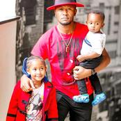 Latest Adorable Photos of Dj Mo with His Children