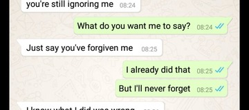 I tested my girlfriend of 3 years to know how faithful she is, then this happens.