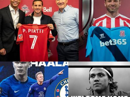 Monday Evening Transfer News: Done deals, Haaland, De Gea, Sallah, Pogba And More Updates