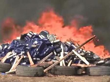 Côte d'Ivoire :  de la cocaïne évaluée à 25 milliards de FCFA brulée