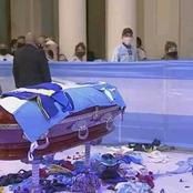 Sport : les images incroyables des funérailles de Diego Maradona