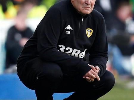 See what Leeds United coach is found doing almost everytime during their premier league matches