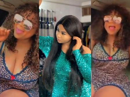 Video: Fast Rising Nollywood Actress Spotted Shaking Her Chest In Her Recent Post