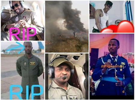 See Photos Of The Air Force Officers Who Died In A Plane Crash