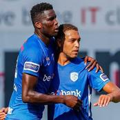 Belgian based Super Eagles striker scores five goals for his club in an exhibition game