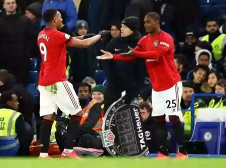 Manchester United star joins EndSars protest (photos)