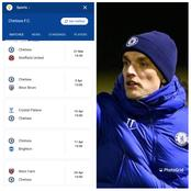 See Chelsea's Next 5 PL Games That Prove Tuchel's Unbeaten Record Might Not Last Long